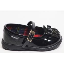 Sapato menina TITANITOS com fivela e franja