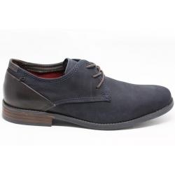 Sapato homem clássico PEGADA em nobuk com palmilha de conforto