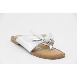 Chinelo Gioseppo Bairoil com laço. Palmilha de couro soft