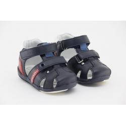 Sandálias com duplo velcro CHICCO Giunco